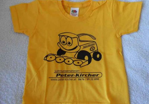 Kinder T-Shirt – Peter Kircher