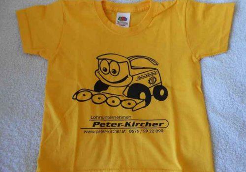 Kinder T-Shirt – Peter Kircher
