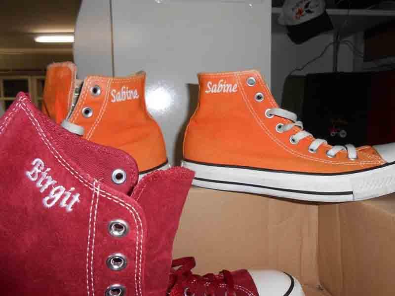 Schuhe – Namensstick